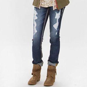 Buckle • Rock Revival Felicia Distressed Jeans